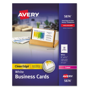 Avery® Premium Clean Edge® Business Cards