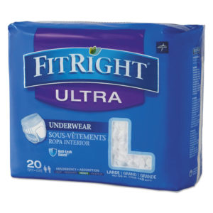 Medline FitRight® Ultra Protective Underwear