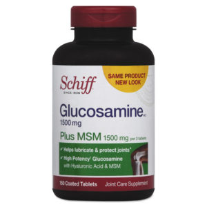 Schiff® Glucosamine Plus MSM Tablet