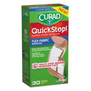 Curad® QuickStop!™ Flex Fabric Bandages