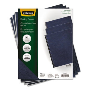 Fellowes® Expressions™ Classic Grain Texture Presentation Covers for Binding Systems