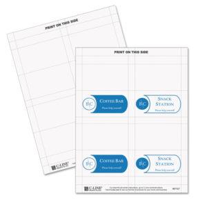 C-Line® Tent Cards