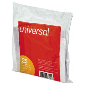 Universal® Hanging File Folder Plastic Index Tabs