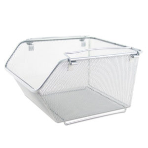 Alera® Wire Mesh Stacking Shelving Bins