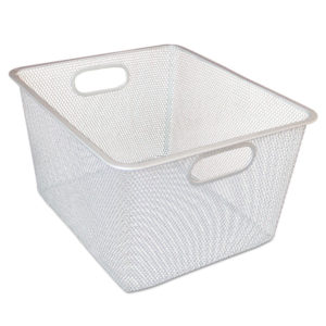 Alera® Wire Mesh Nesting Shelving Baskets