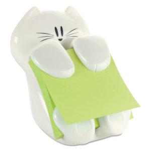 Post-it® Pop-up Notes Super Sticky Cat Notes Dispenser