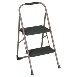 Cosco® Two-Step Big Step™ Folding Step Stool