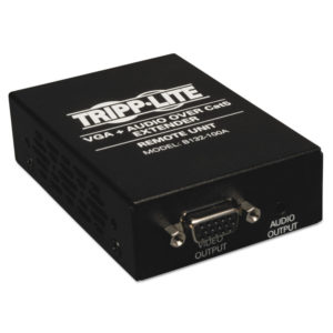Tripp Lite VGA Plus Audio Over CAT5 Receiver