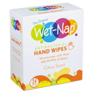 Wet-Nap® Antibacterial Hand Wipes