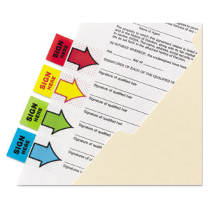 """Post-it® Flags Arrow Message 1"""" Flags"""