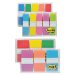 """Post-it® Flags 1/2"""" & 1"""" Flag Value Pack"""