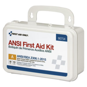 First Aid Only™ ANSI Class A 10 Person Bulk First Aid Kit