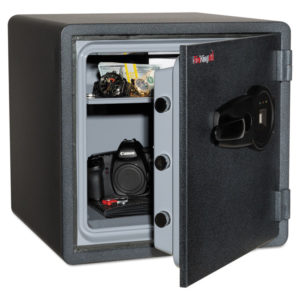 Fireking® One Hour Fire Safe and Water Resistant with Biometric Fingerprint Lock