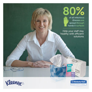 Kleenex® BOUTIQUE* Anti-Viral Facial Tissue