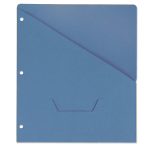 Universal® Slash-Cut Pockets for Three-Ring Binders