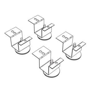 HON® Brigade® Pedestal Adjustable Glides