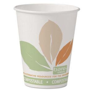 Dart® Bare® by Solo® Eco-Forward® PLA Paper Hot Cups