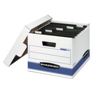 Bankers Box® HANG'N'STOR™ Medium-Duty Storage Boxes