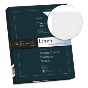 Southworth® 25% Cotton Linen Cover Stock