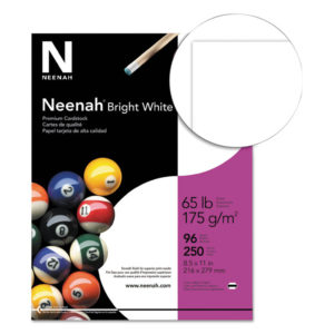 Neenah® Bright White Card Stock