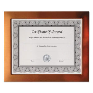NuDell™ Copper Finish Metal Document/Photo Frame