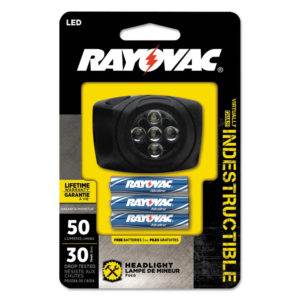 Rayovac® Virtually Indestructible LED Flashlights