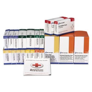 First Aid Only™ 36 Unit ANSI Class A+ with BBP Refill