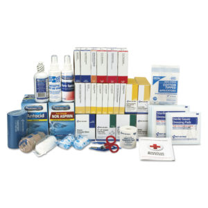 First Aid Only™ 3 Shelf ANSI Class B+ Refill with Medications