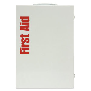 First Aid Only™ ANSI Class B+ 4 Shelf First Aid Station with Medications
