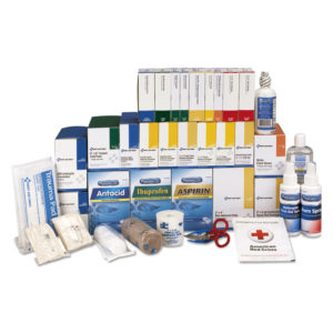 First Aid Only™ 4 Shelf ANSI Class B+ Refill with Medications