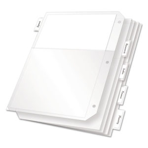 Cardinal® Poly Ring Binder Pockets
