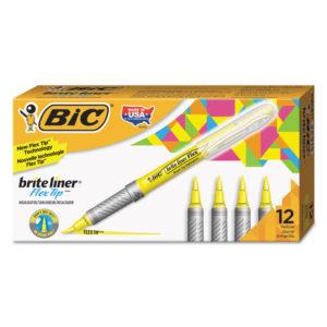 BIC® Brite Liner® Flex Tip™ Highlighters