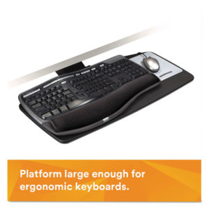3M™ Easy Adjust Keyboard Tray with Standard Platform