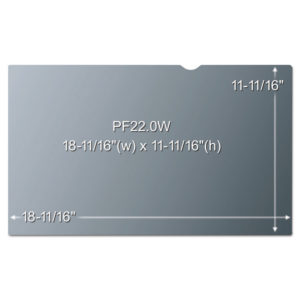 3M™ Frameless Notebook/Monitor Privacy Filters