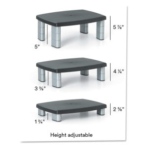 3M™ Adjustable Height Monitor Stand