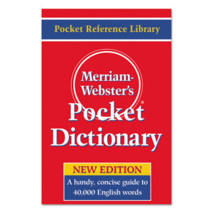Merriam Webster® Pocket Dictionary