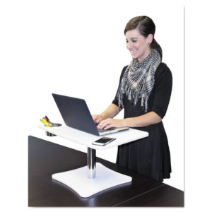Victor® DC240 Adjustable Laptop Stand with Storage Cup