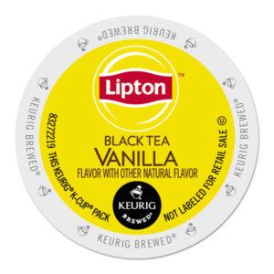 Lipton®  Black Tea Vanilla K-Cups®