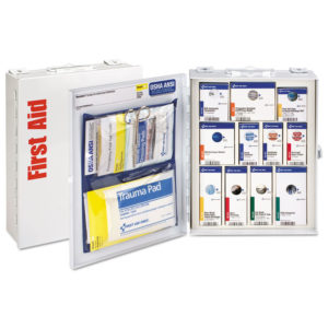 First Aid Only™ ANSI 2015 SmartCompliance Food Service First Aid Cabinet