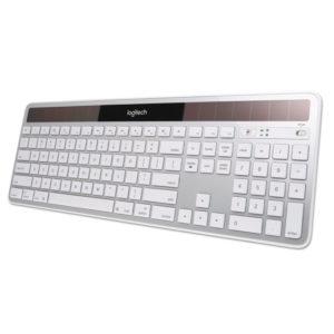 Logitech® Wireless Solar Keyboard for Mac