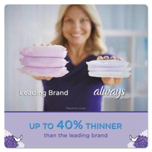 Always® Discreet Sensitive Bladder Protection Liners