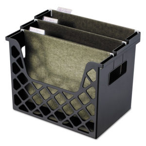 Universal® Recycled Extra Capacity Desktop File Holder