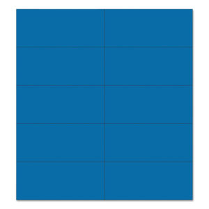 MasterVision® Dry Erase Magnetic Tape
