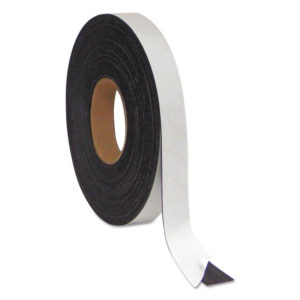 MasterVision® Magnetic Adhesive Tape Roll
