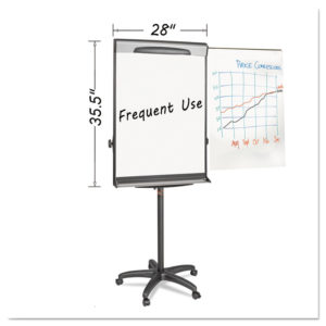 MasterVision® Tripod Extension Bar Magnetic Gold Ultra Dry Erase Easel