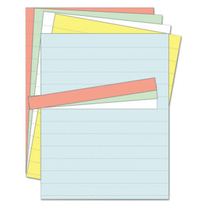 MasterVision® Data Card Paper Inserts