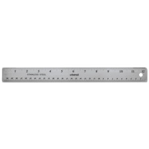 Universal® Stainless Steel Ruler