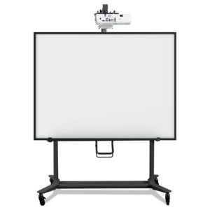 MasterVision® Interactive Board Mobile Stand with Ultra-Short Throw Projector Mounting Plate