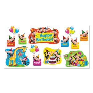 TREND® Monkey Mischief™ Classic Accents® & Bulletin Board Sets