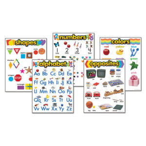 TREND® Learning Chart Combo Packs